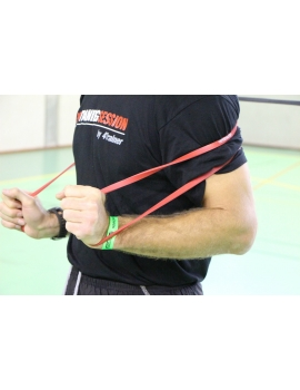 Bandes élastiques Powerband Extra Light - Rouge - XS