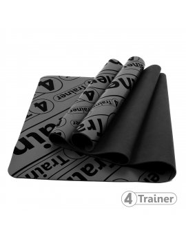 Tapis de yoga antidérapant Eco friendly 4Trainer