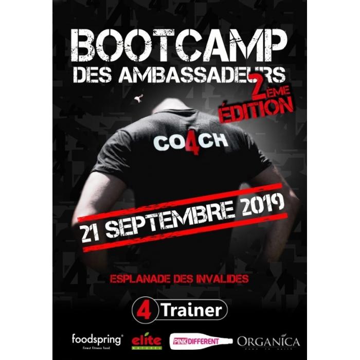 BOOTCAMP 4Trainr  Samedi 21 septembre 2019