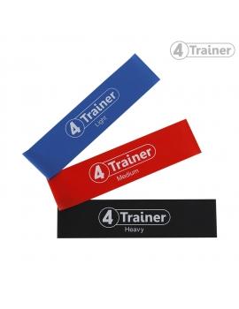 Pack Flat Bands XL 4Trainer - Mini bandes élastiques plates