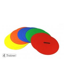 Disques d'agilité multicolores - Lot de 10
