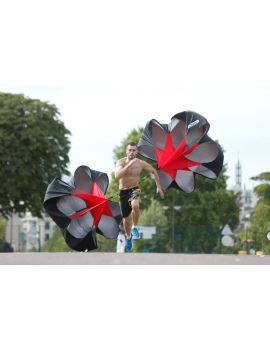 Parachute de vitesse  4Trainer  - Puissance de démarrage, explosivité, résistance