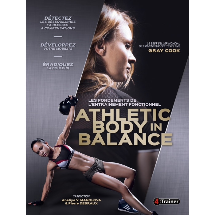 LIVRE Athletic Body in Balance - Méthode FMS Gray COOK | 4Trainer