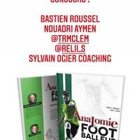 Félicitations aux gagnants qui reportent chacun 1 exemplaire du nouveau livre #Anatomie du Footballeur 🎉 Bonne  lecture à tous !