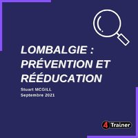 🥇LA RÉFÉRENCE 🥇  LOMBALGIE : PRÉVENTION ET RÉÉDUCATION est le guide pratique complet de référence pour l'évaluation et le traitement des pathologies lombaires.  Swipe pour découvrir le contenu 👉  Traduction officielle en 🇫🇷 du best seller de Stuart MacGill #LowBackDisorders   Disponible en rayon dans tout le réseau libraire dès aujourd'hui !  🎁 5% de remise avec le code LOMBAL4T  sur le site www.4trainer.fr   #4Trainer #livre #lombalgie #kiné #kinesitherapie #ebp #evidencebasedpractice #preparationphysique